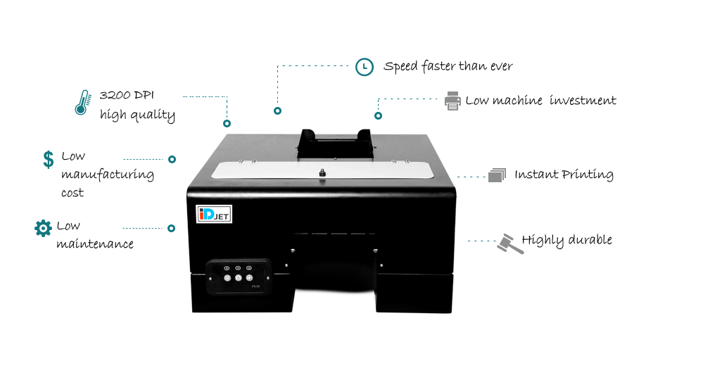 IDJet automatic id card printer